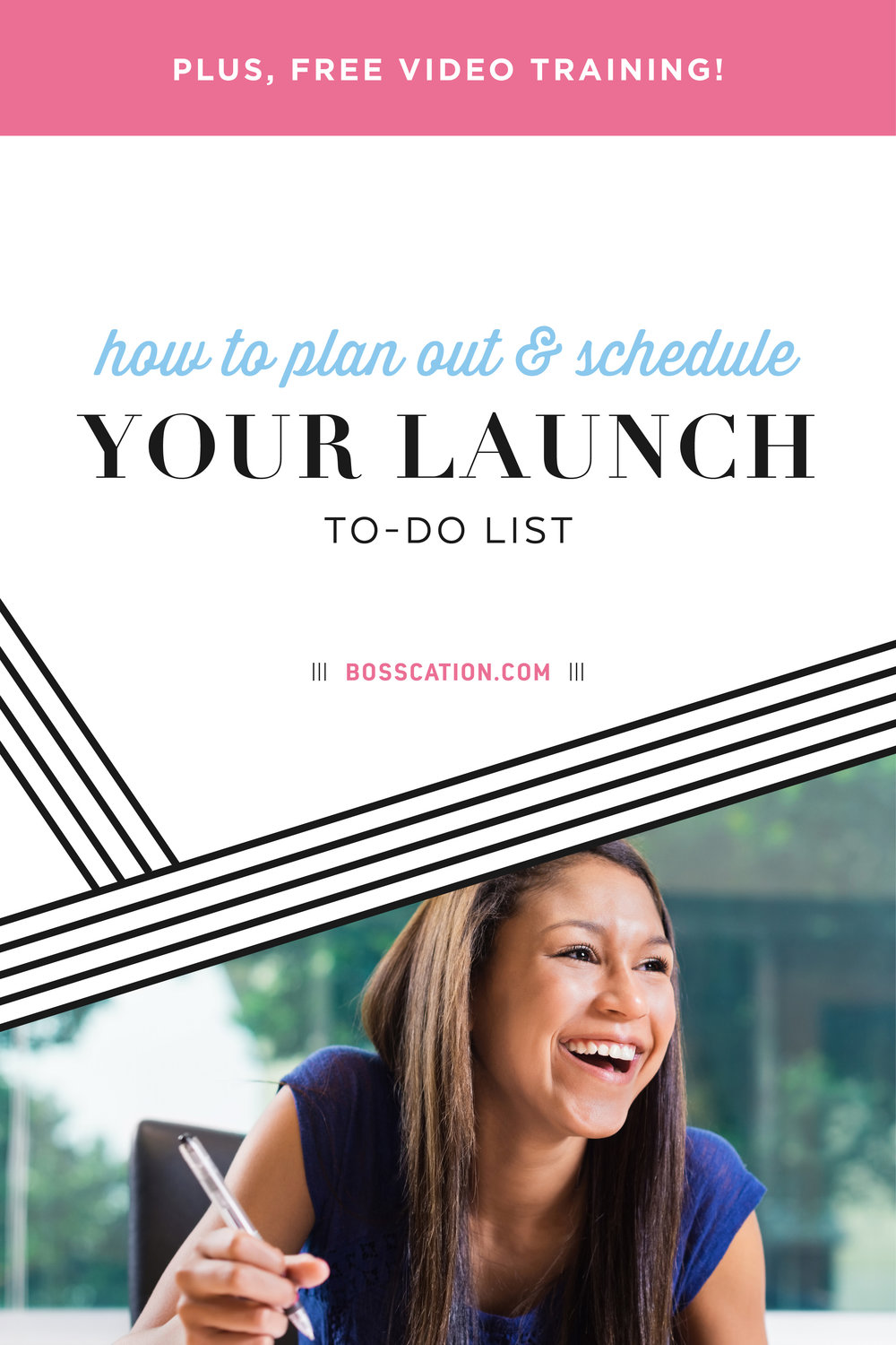 How to plan out and schedule your launch to-do list so you actually know WHAT to work on, and how to prioritize each task!