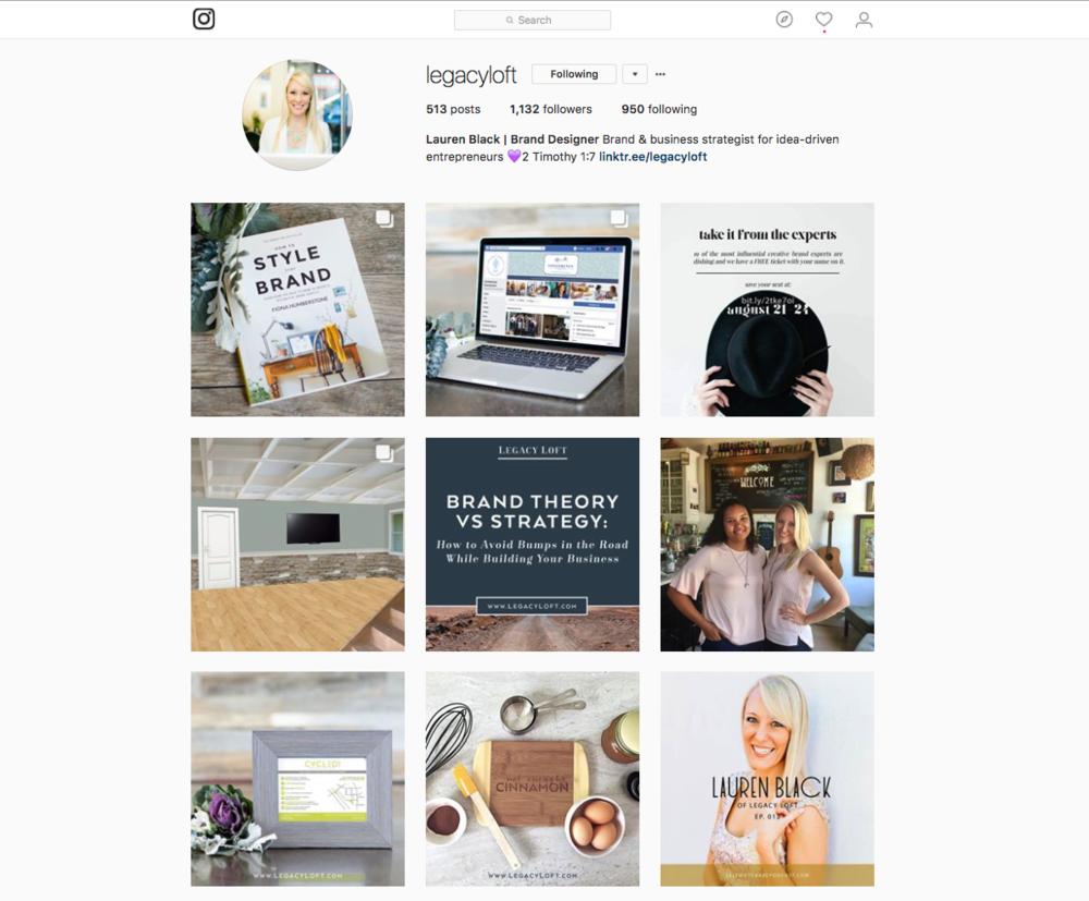Legacy Loft Instagram