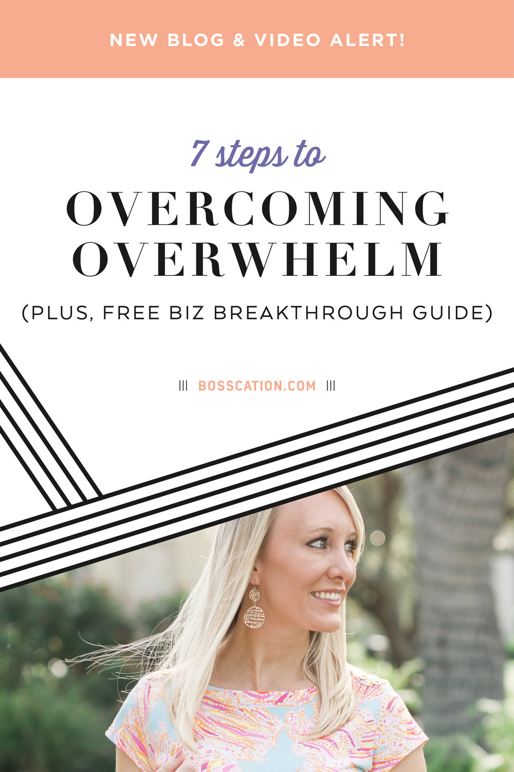 Feeling stressed in your business? Trying to do #allthethings for #allthepeople around you?  Here are 7 steps you can take to break through from your overwhelm without sacrificing your success! Plus, grab our free business breakthrough guide to help you ditch the overwhelm!