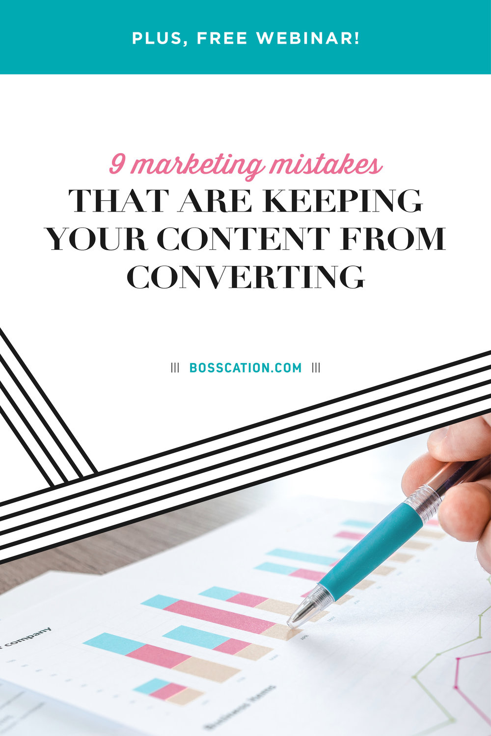 When writing blog posts, filming videos, sending newsletters or other content marketing, you need to ensure that your efforts are converting! Whether that's sales, more followers, an engaged email list, etc, avoiding these 9 mistakes will help your content be more effective. Make sure you're speaking to the right audience, not teaching your craft (unless you're an infopreneur), tracking your analytics, setting correct goals making relationships, etc.