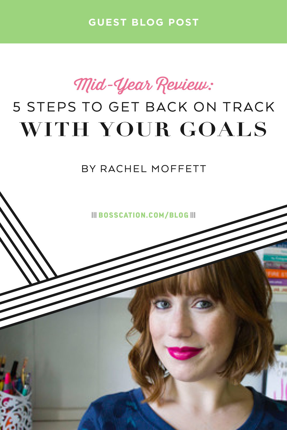 How to get back on track with your goals when it's mid-way through the year. Review your past goals and set new ones.