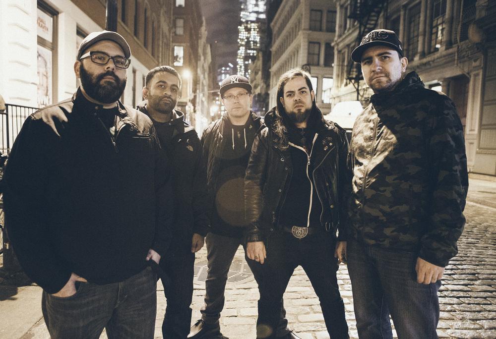 L-R: Paul Klein, Ricky Singh, Jonathan Buske, Paul Delaney, Ivàn Murillo