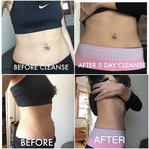 5 Day Cleanse that we did last year
