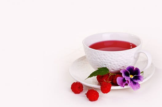Drink hibiscus tea -