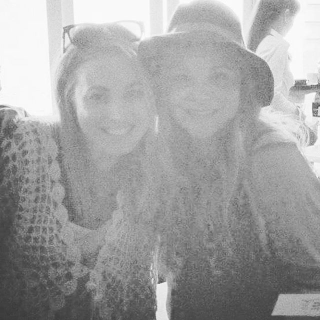 This photo is so faded but I've been thinking a lot about one of my best and forever friends who I miss SO MUCH: Suze Lambert @sjlambert76. Love you beauty - kind, clever, spirited, BEAUTIFUL, SO much fun, best writer-of-greeting-cards... and lots more. Honouring you today just because, my love! 🌷🦋🐚