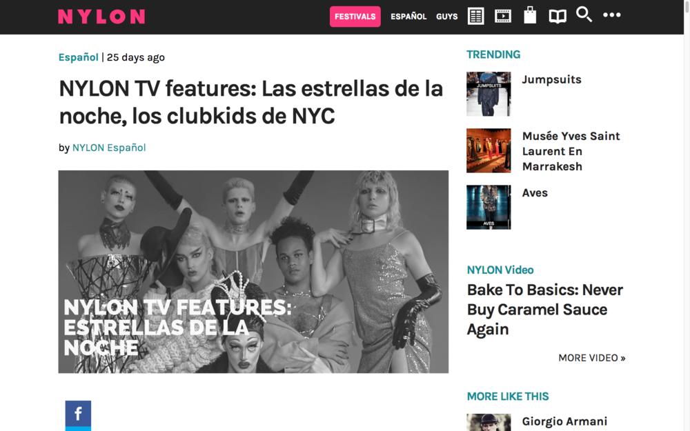 NYLON TV features: Las estrellas de la noche, los clubkids de NYC- NYLON ESPANOL