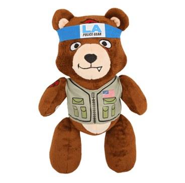 LA Police Geat Tac Teddy