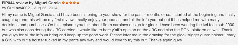 itunes review winner