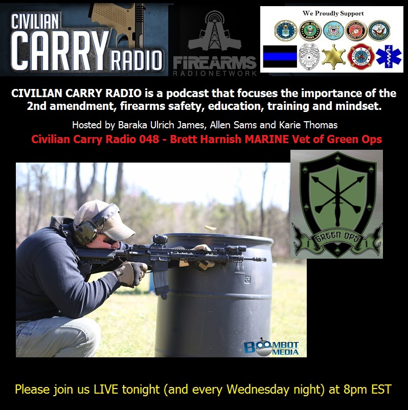 Civilian Carry Radio 048 - Brett Harnish MARINE Vet of Green Ops.jpg