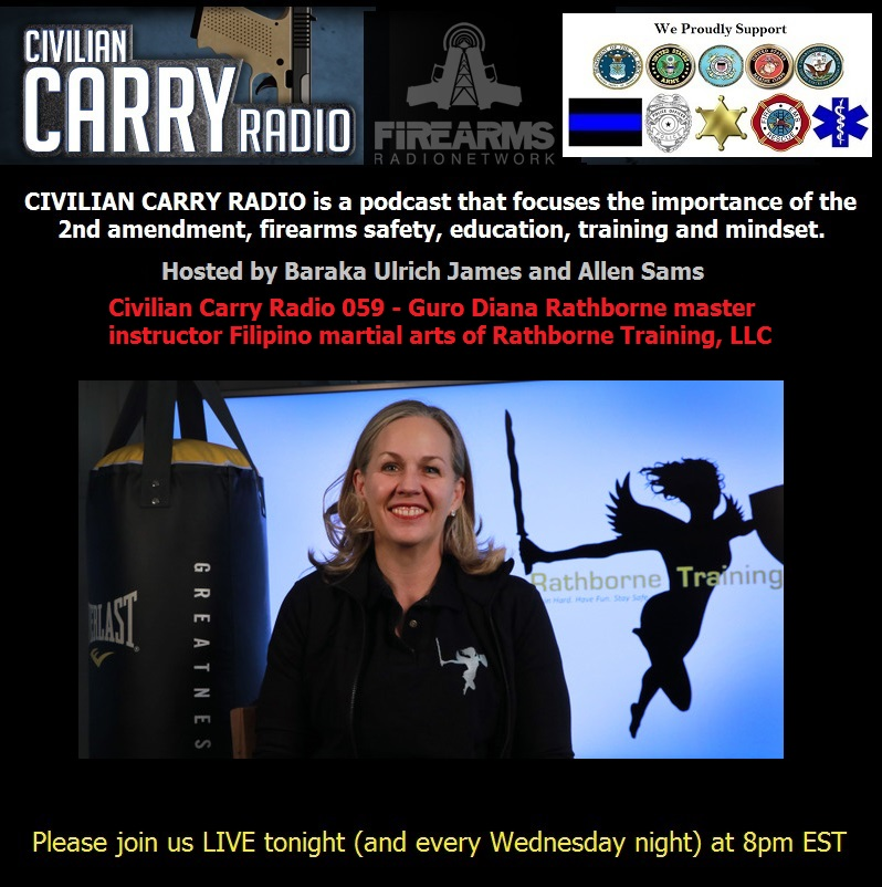 Civilian Carry Radio 059 Guro Diana Rathborne of Rathborne Training LLC.jpg