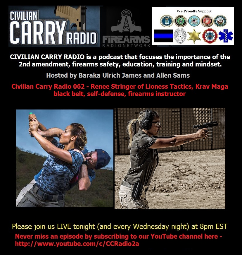 Civilian Carry Radio 062 - Renee Stringer of Lioness Tactics, Krav Maga black belt.jpg