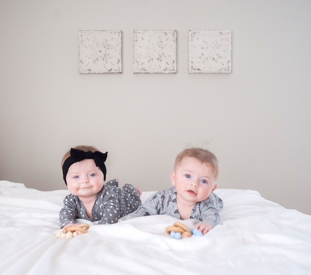 I don't think I could love them more. Nope. • clothes: @shop_little_mouse (code: madison10) teethers: @indieandchic (code: walters15)