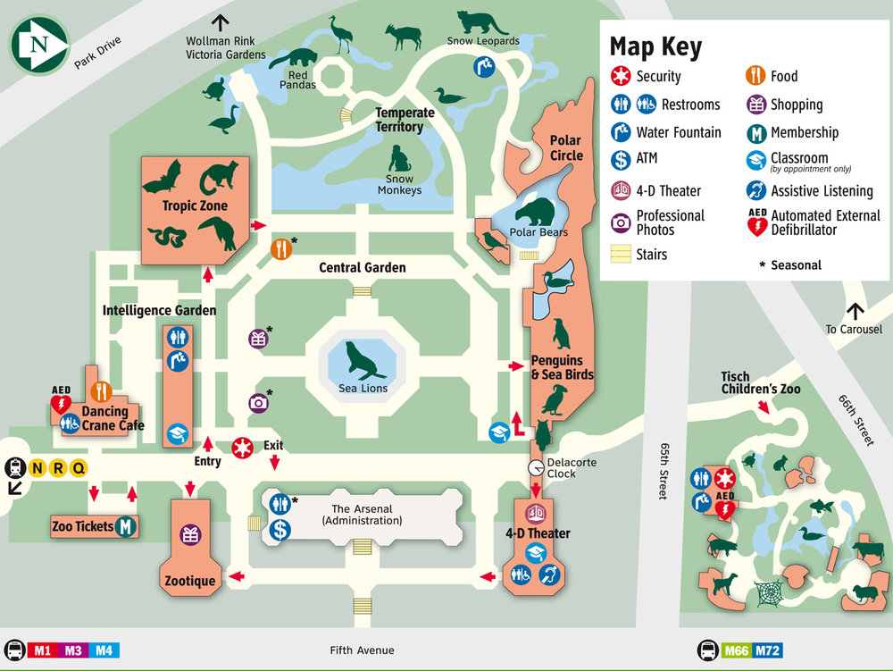 The Original Zoo Map