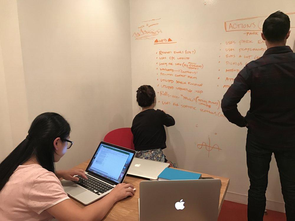 Facilitating the team meetings