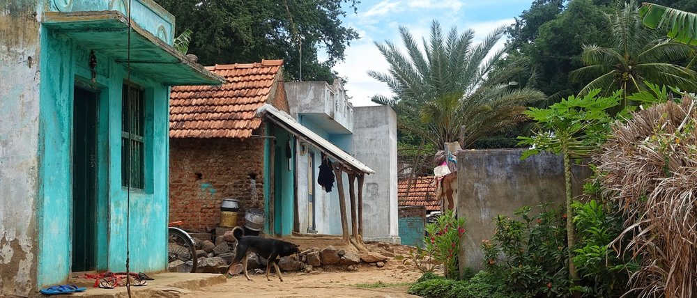 India is not all the bustling cities of a developing country. Much of it is still very rural and very poor.