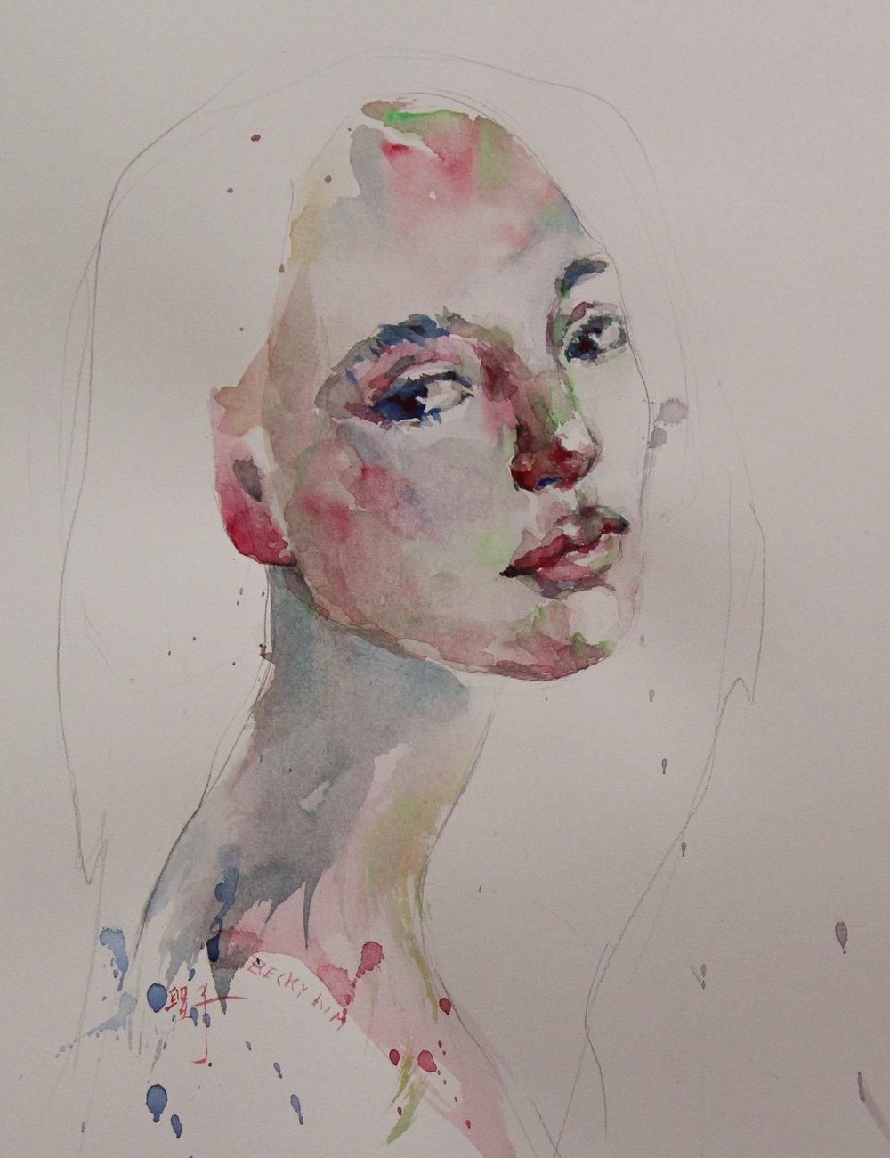 WC Portrait 1603