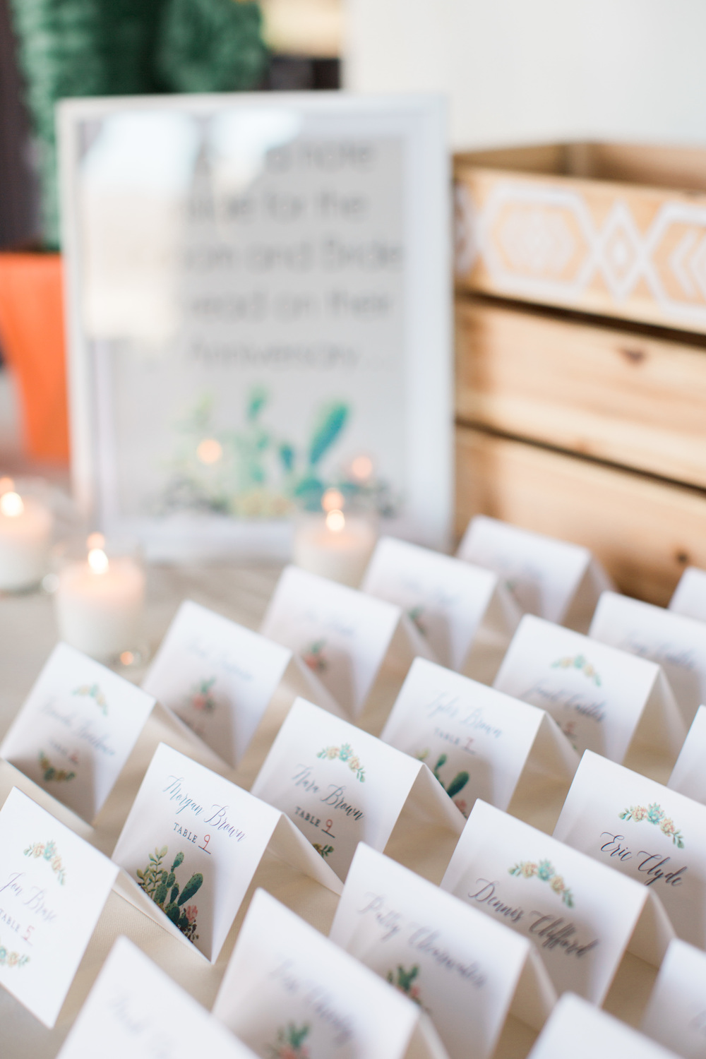 Gorgeous place cards design by briedumaisdesigns.com