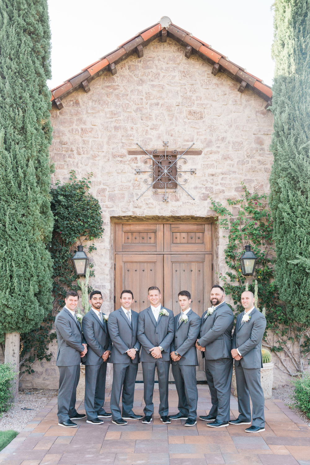 Groomsmen | Superstition Mountain Golf Club Wedding | Phoenix Wedding Photographers | See more at BetsyandJohn.com