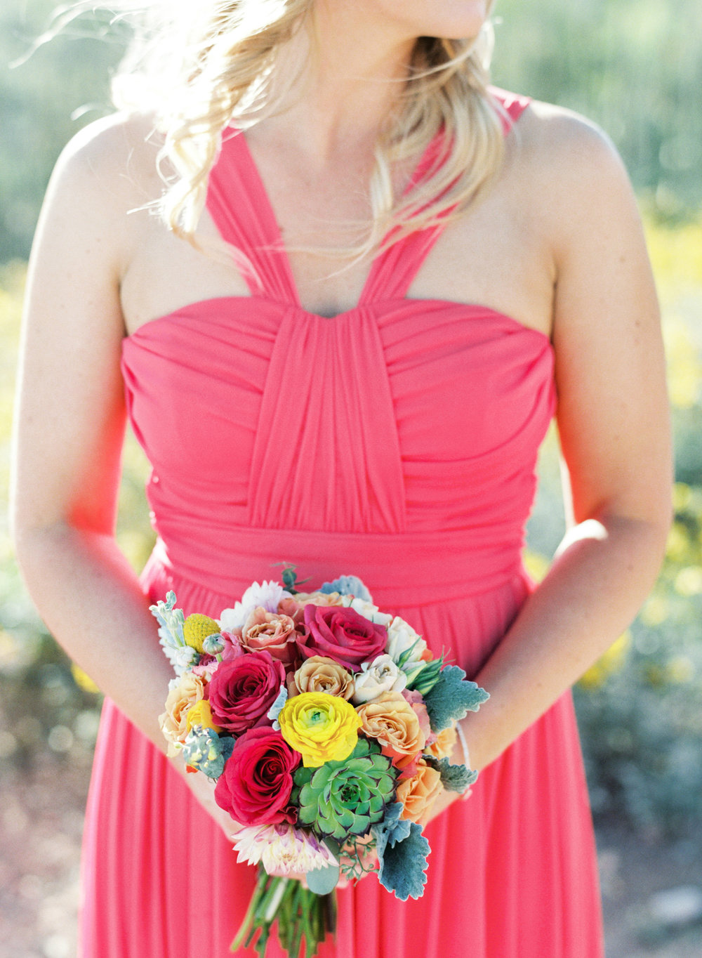 Bright & Colorful bouquet by Alexis Grace Florals