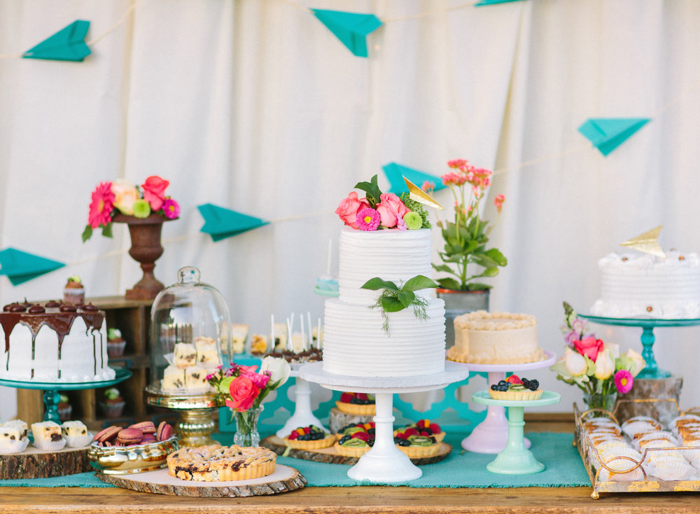 Gorgeous Dessert Table by Camille Hawley from BeWhatWeLove