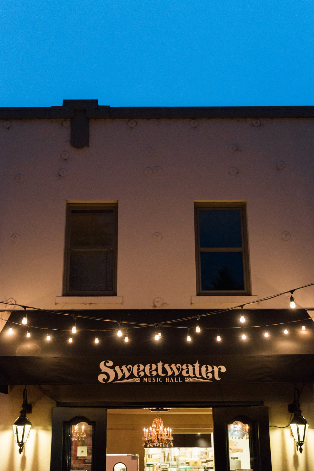 Wedding reception held at the Sweetwater Music Hall in Mill Valley
