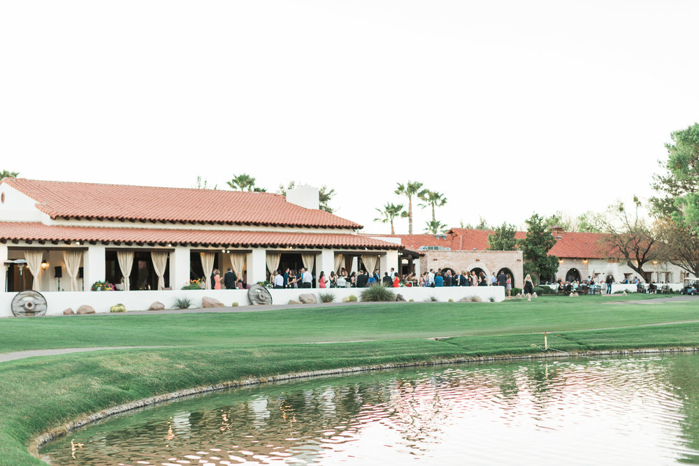 Cocktail hour at Tubac Golf Resort