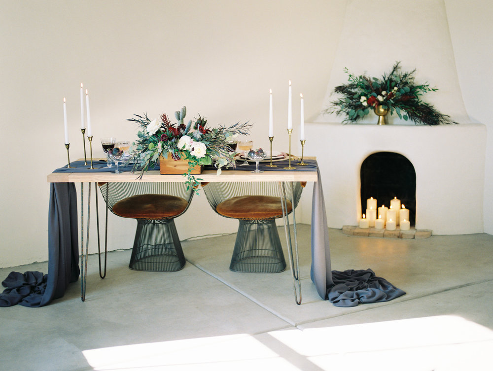 Stunning table setting by San Diego wedding planner, Kelly of La Champagne Projects