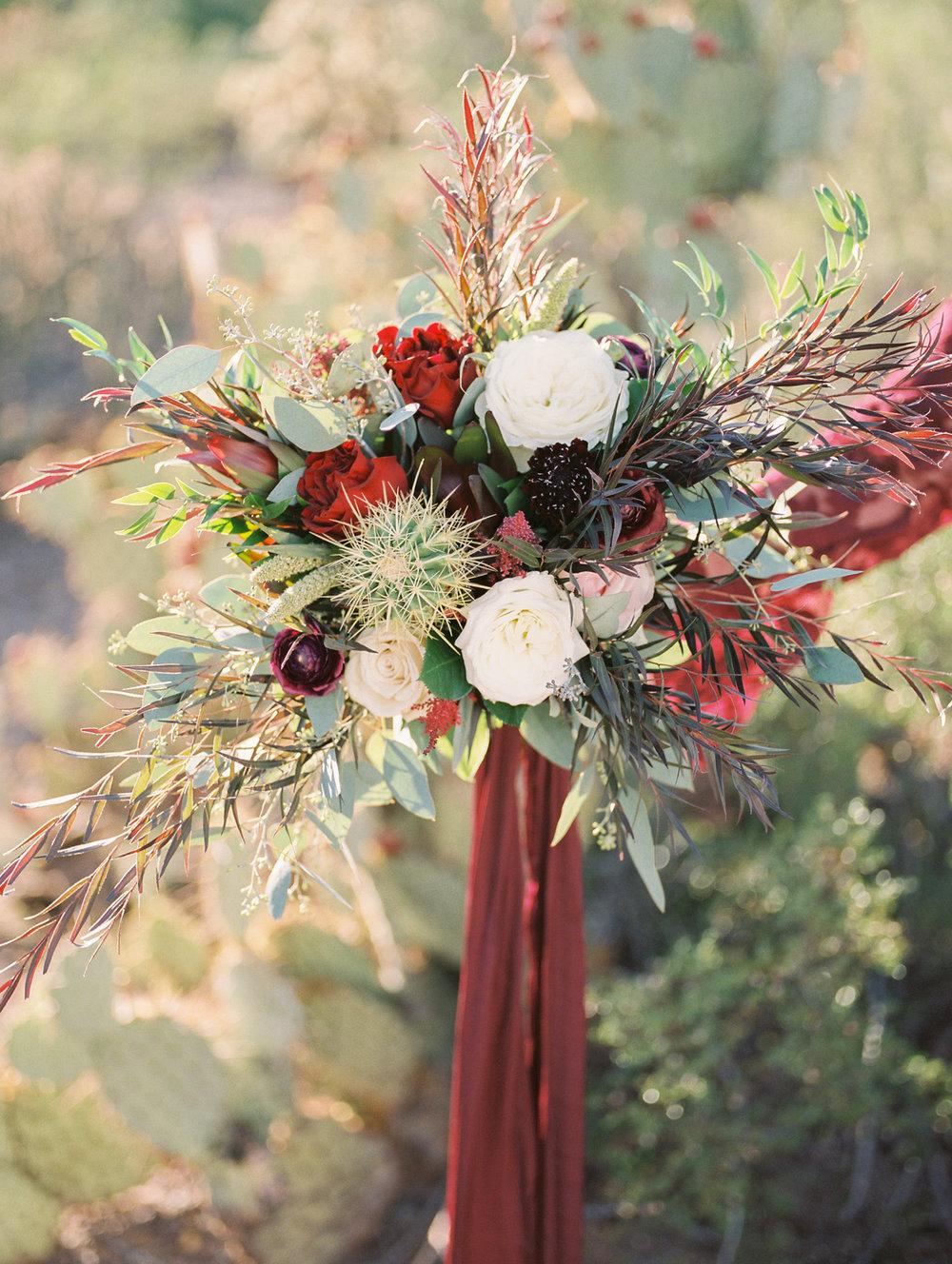 Stunning desert bouquet by Tucson Florist, Alexis Grace Florals
