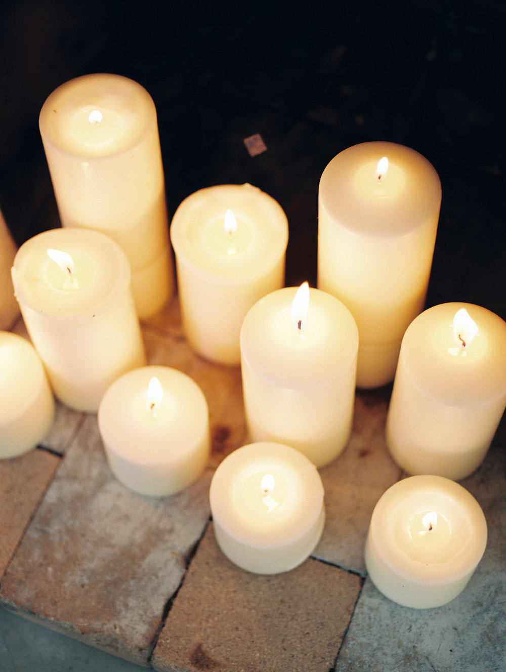 Candles burning | romantic candlelight