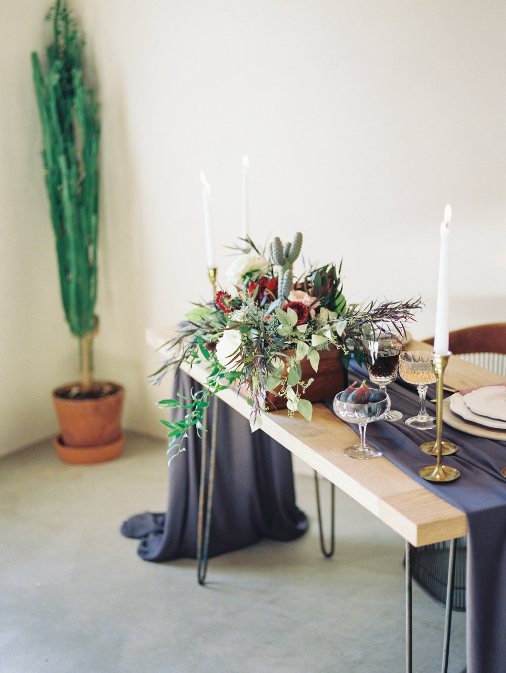 Gorgeous fall wedding tablescape / reception inspiration