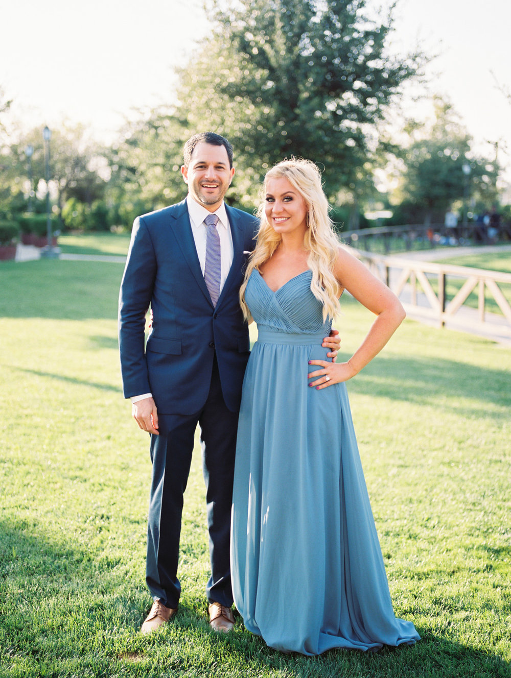 Cute couple at  Harrison & Jocelyne's gorgeous Temecula wedding day at Wiens Family Cellars captured by Temecula wedding photographers Betsy & John