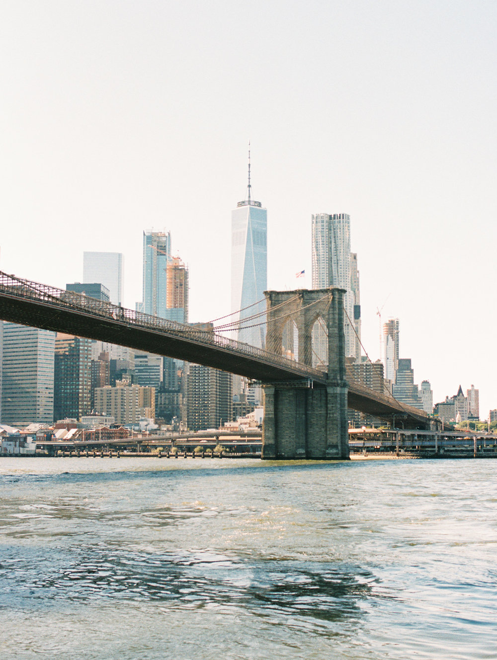 Brooklyn Bridge on film