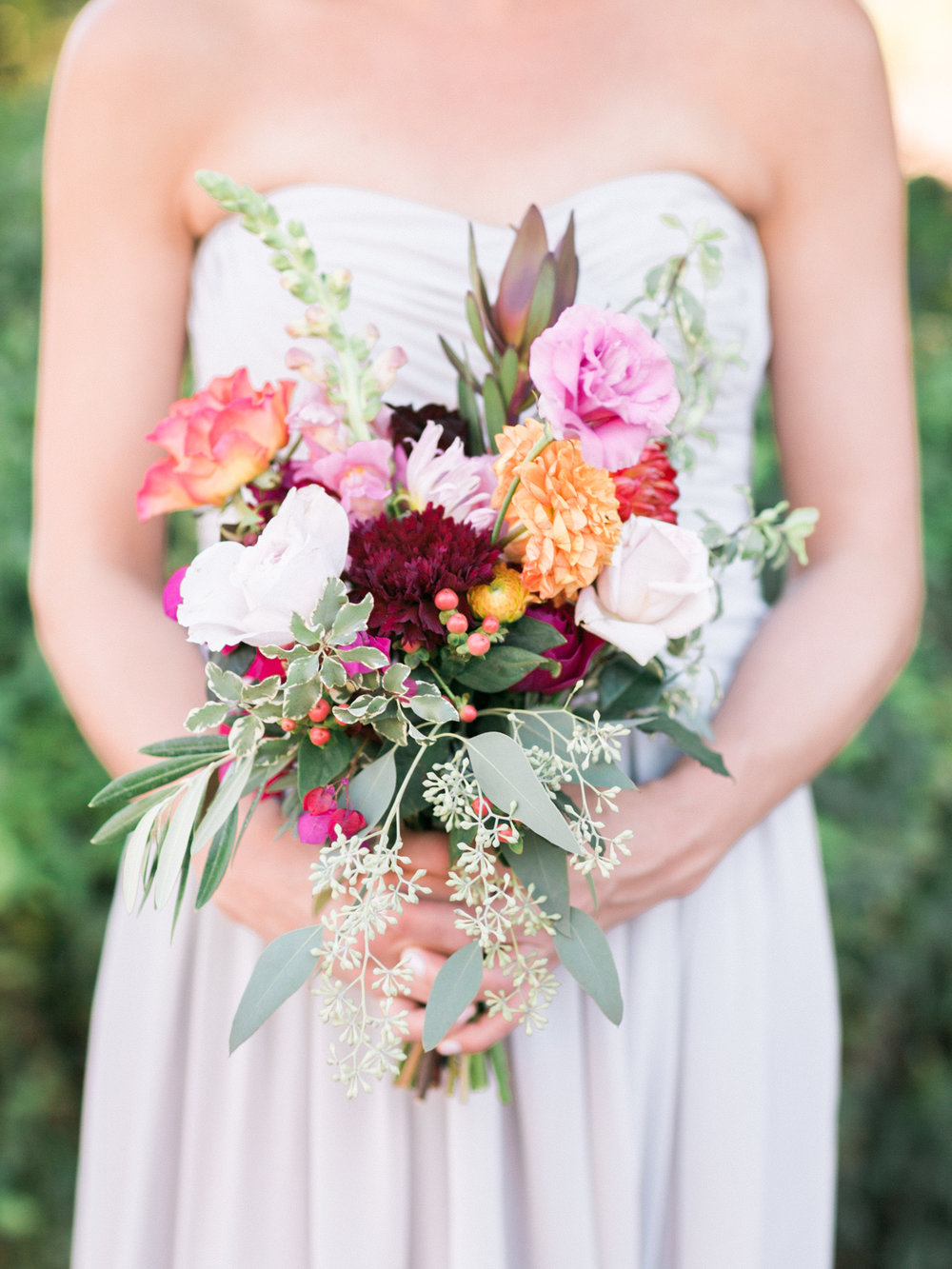 Beautiful DIY bridesmaids bouquet