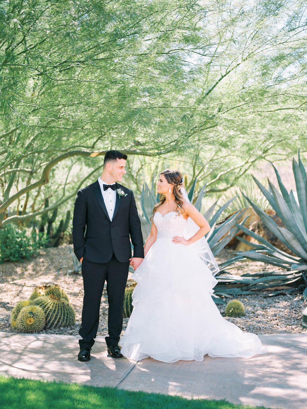Desert wedding captured by Tucson Wedding Photographers Betsy & John
