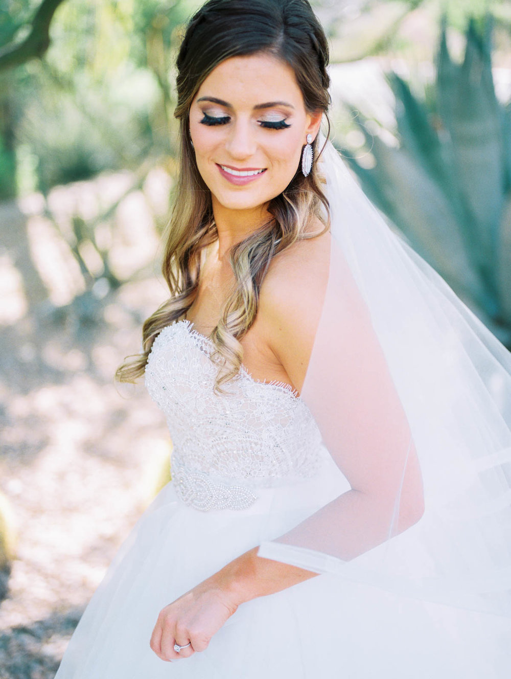 Tucson bride captured by Tucson Wedding Photographers Betsy & John