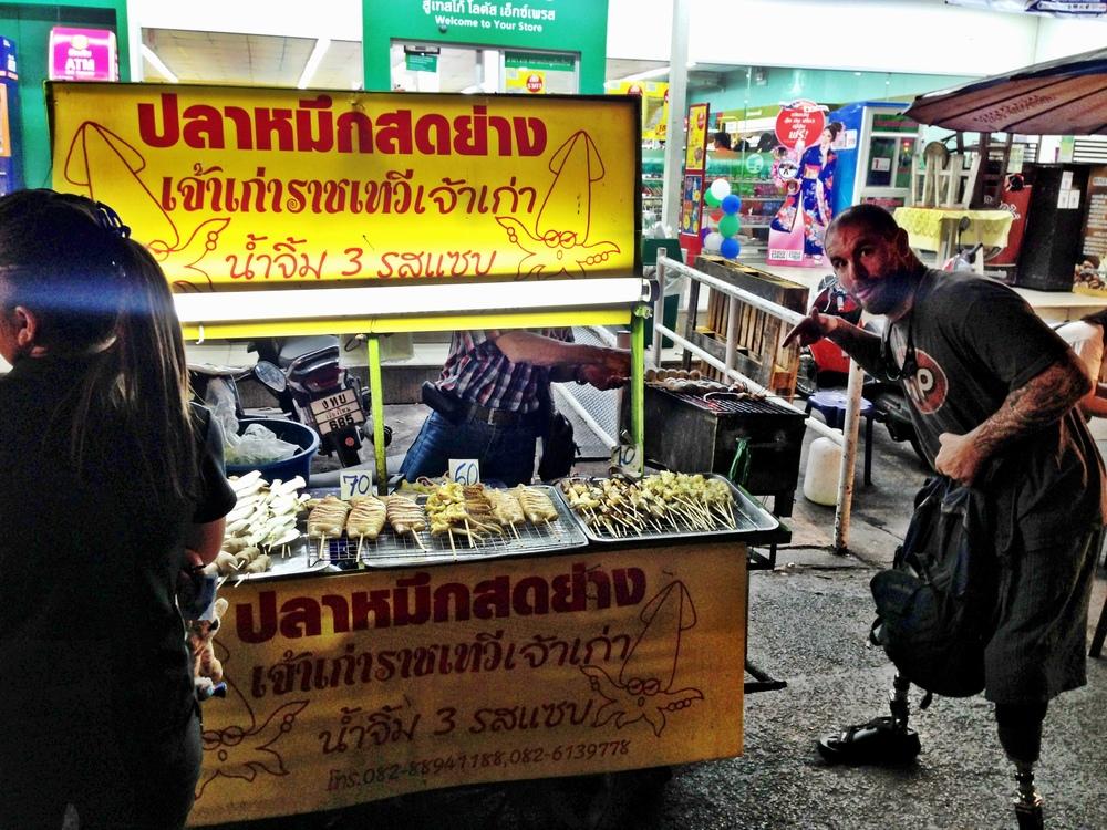 Squid Street Vendor