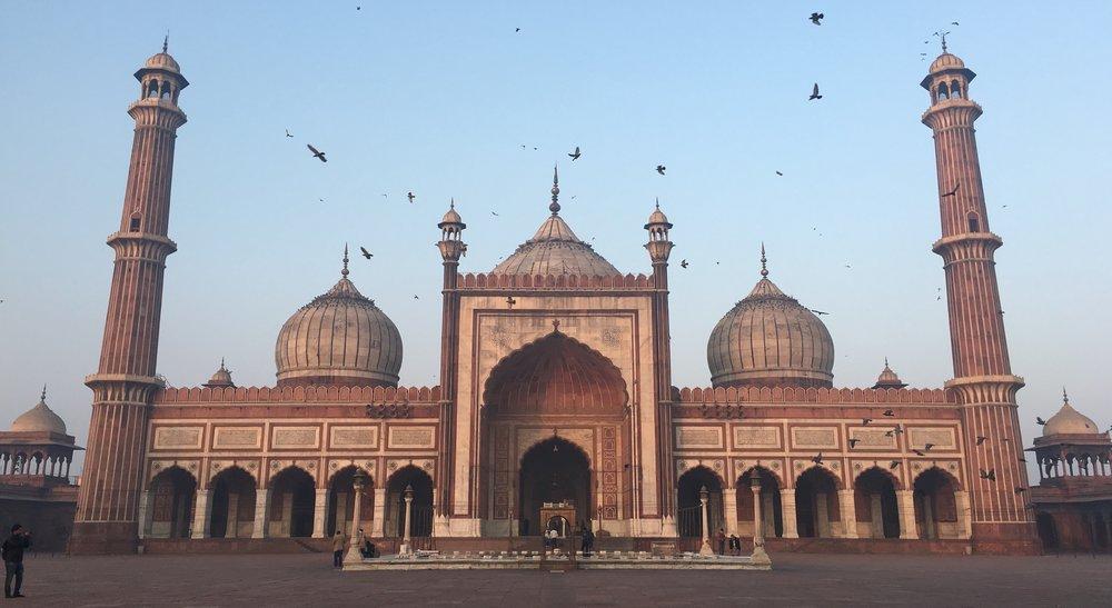 Jama Masjid Delhi India