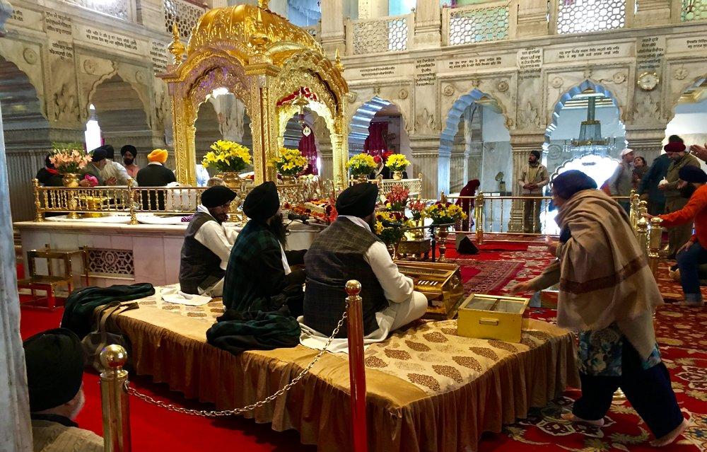 Sikh Gurdwara Delhi India