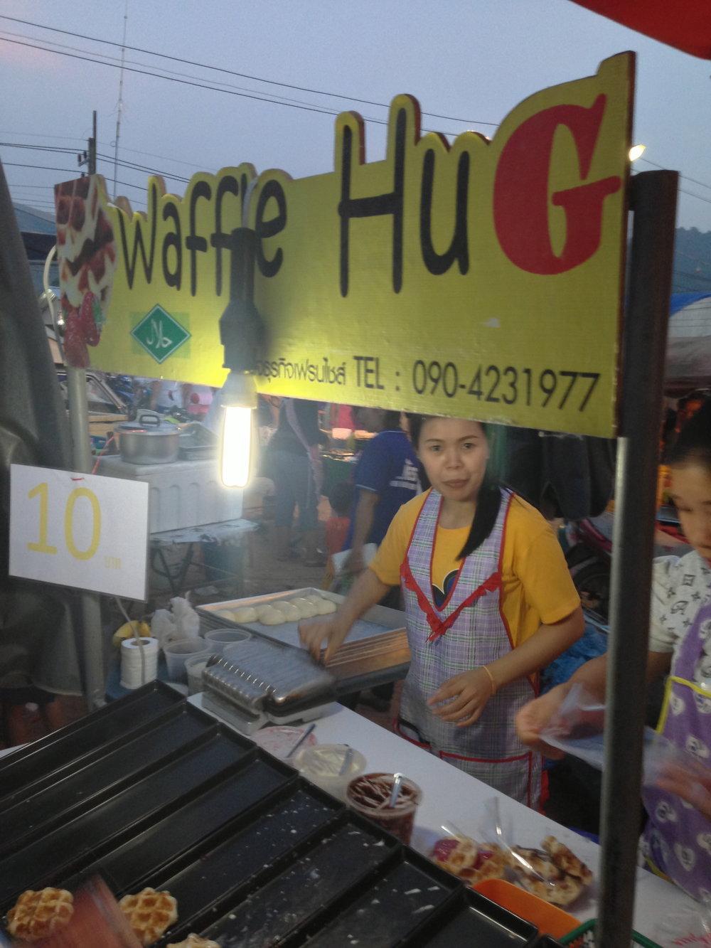 Everyone deserves a Waffle Hug.