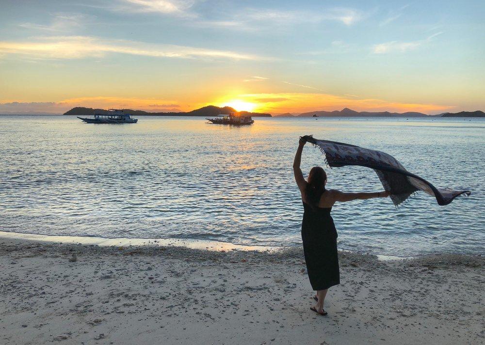 Philippines sunset.