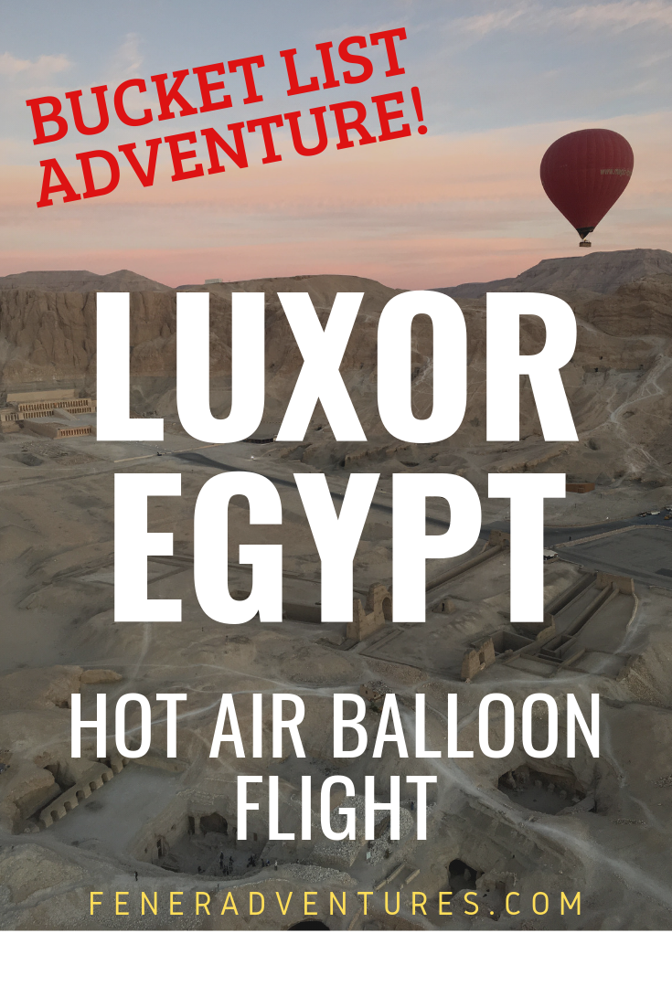 Hot Air Balloon Adventure in Luxor Egypt Must See Things to do