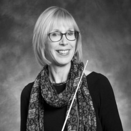 Carrie Provost, Co-Music Director of the Naperville Youth Symphony Orchestra (NYSO)