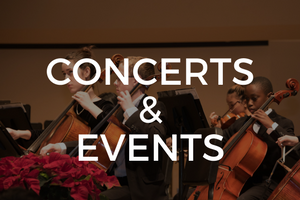 Check out all of the upcoming concert and events being produced by Music at Bethany