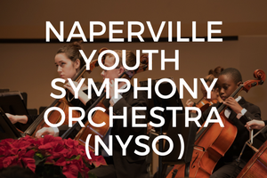 Under the direction of music directors Kimberlie Richter and Carrie Provost, The Naperville Youth Symphony Orchestra (NYSO) offers orchestral performance and chamber music opportunities for young musicians seeking to enhance and grow their musical experience. NYSO rehearses and concertizes in Naperville and welcomes all interested young musicians in the surrounding areas, 5th through 12th grade, to audition and participate in this exciting opportunity. Learn More.