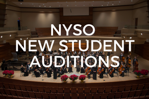 The Naperville Youth Symphony Orchestra (NYSO) welcomes all 5th-12th grade students to audition for our next season!