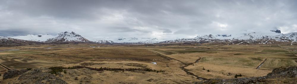 Surrounding mountains of Borgarfjörður Eystri.