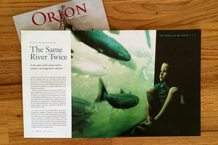 Researched images for piece in Orion magazine. I searched through Natalie Fobes' extensive archives on-site to find imagery for the client.