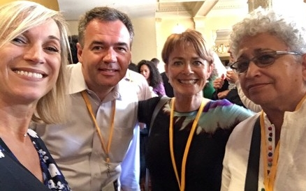 Rebels at Work at #BIF2017: Celine Schillinger, Dany DeGrave, Lois Kelly, Carmen Medina