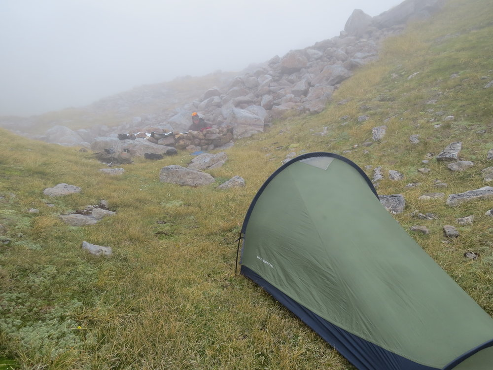 A bivy tent definitely adds a bit of comfort.