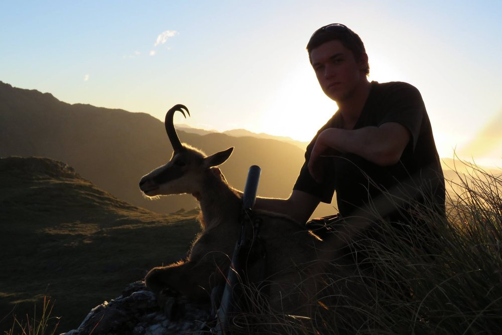 An epic photo and an epic buck. Image: Ollie Clarke